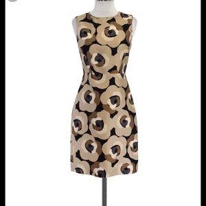 Worn Once Kate Spade Floral Black Dress Size 6